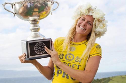 World Surf League Equal pay men women