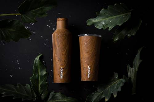 Corkcicle Walnut Collection
