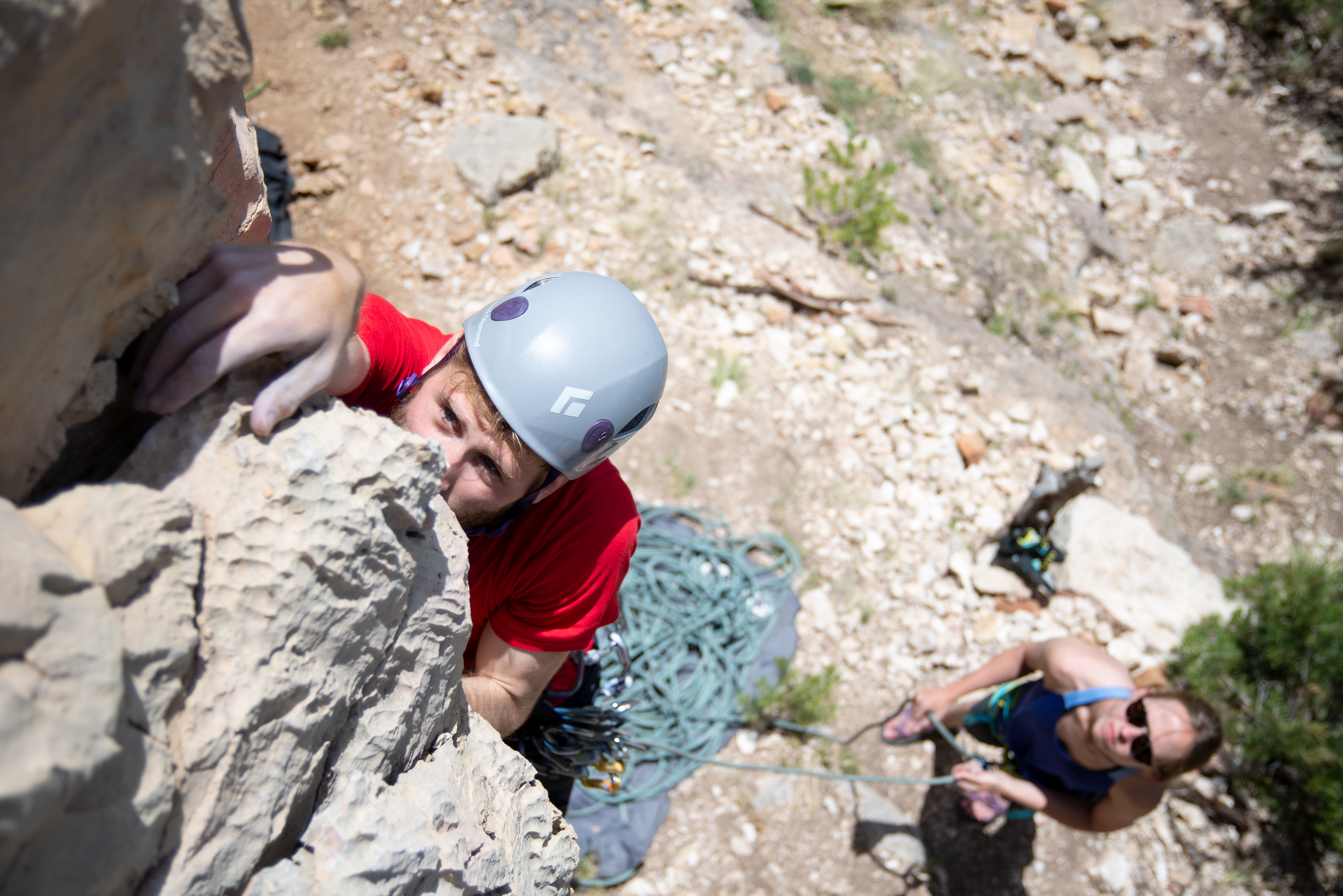 how to get into sport climbing