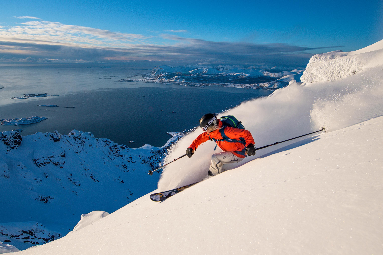 Norrona skier gear testing