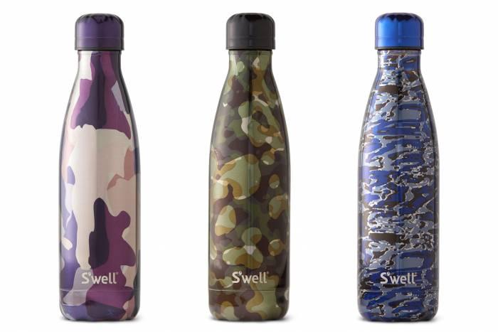 Swell Metallic Camo Bottle