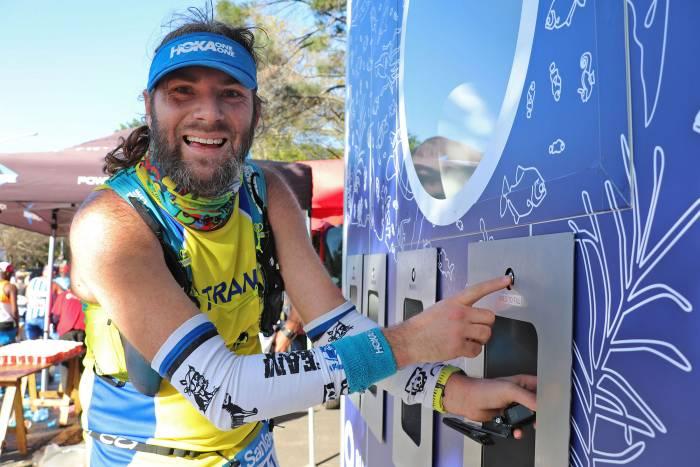 greenest marathon Hoka runner