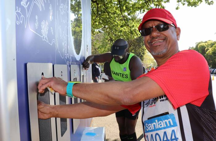 greenest marathon fill stations