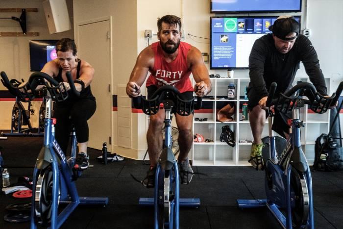 F45 gym owner