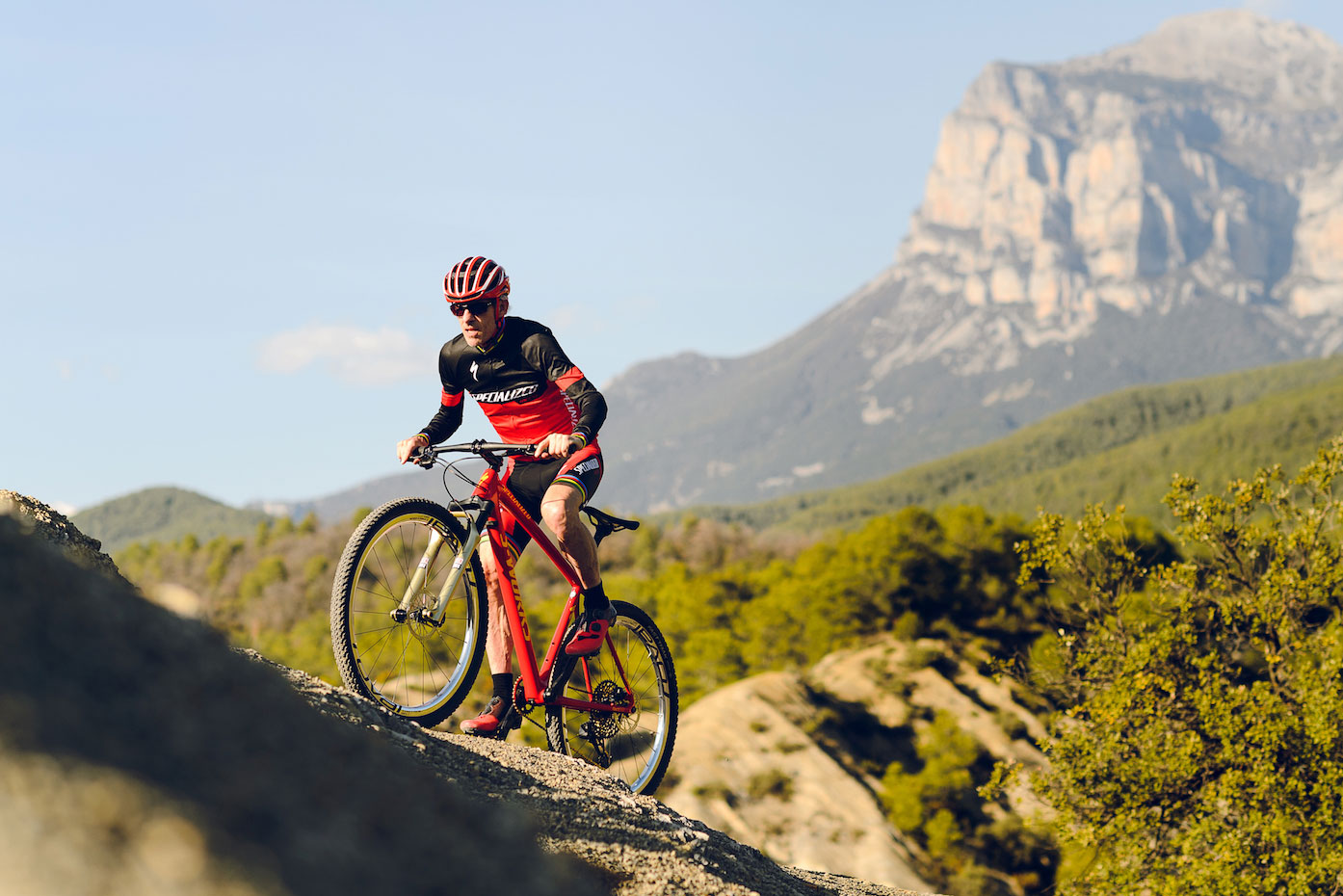 Ned Overend crushes hills on 2x setup