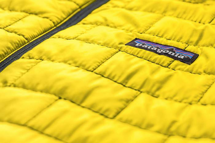 outdoor apparel by Patagonia