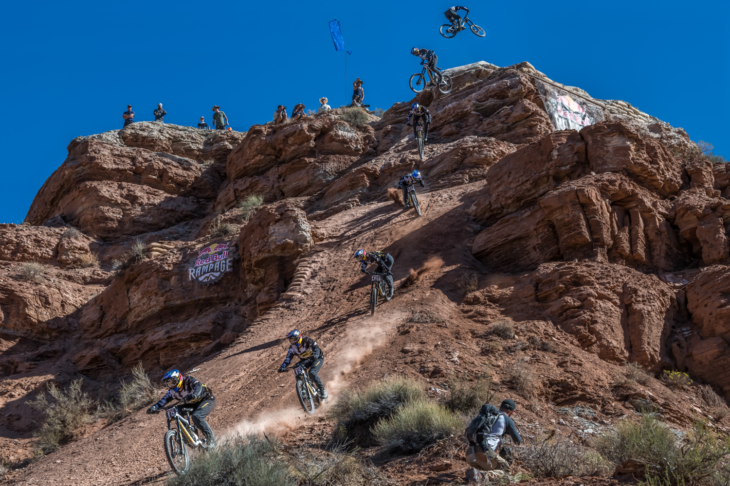 Red Bull Rampage >> Red Bull Rampage 2018 Daredevil Guinea Pigs Break Ground
