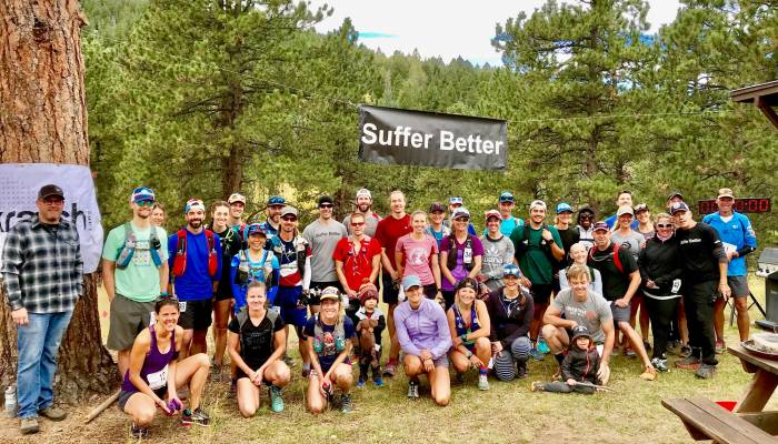 Suffer Better trail race