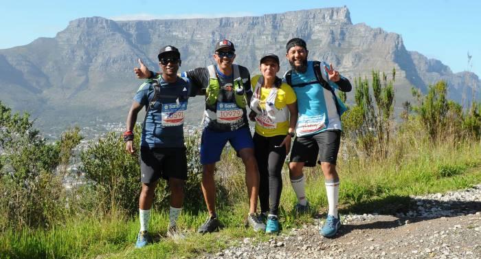runners at greenest marathon