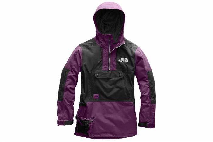 the north face silvani jacket black currant