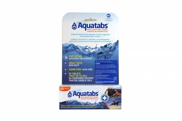 aquatab32 - Best Ultralight Water Purification