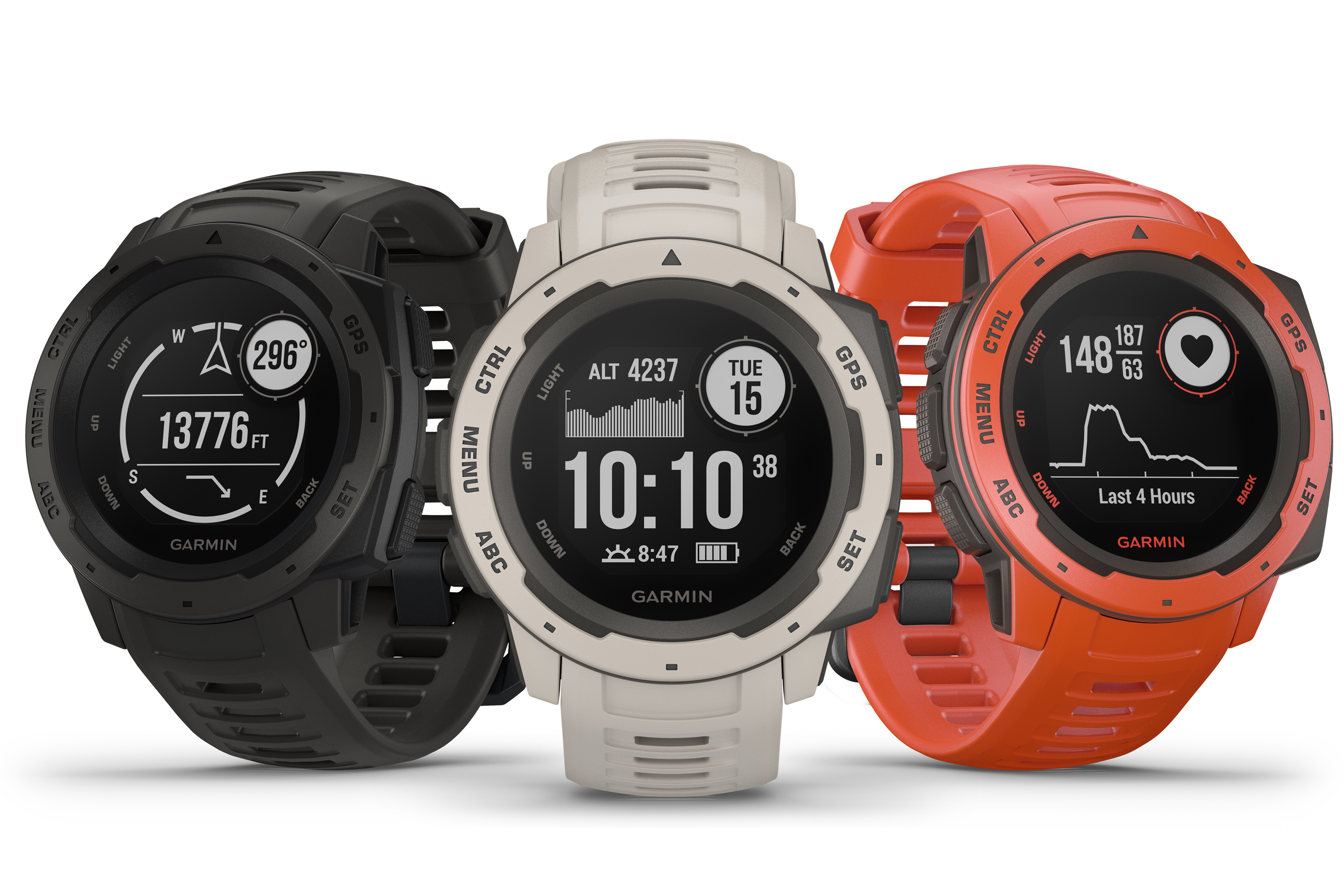 Garmin debuts Instinct, a rugged Global Positioning System  watch