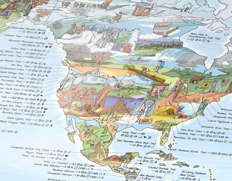 The World's Hiking Trails on One Map, Illustrated by Hand ... on 47 pct maps, hiking map icon, hiking park maps, mexico hiking, eastern sierra topo maps, hiking southern california, hiking gps maps, northern virginia hiking, hiking seattle, santa barbara hiking, specialty maps, hiking trails massanutten resort, hiking sign, hiking trails near multnomah falls, hiking mt wrightson arizona, amc hiking maps, denali hiking maps, lowa hiking, vasque hiking, property map, hellmann whittier trails maps, salomon hiking, hiking maryland, hiking shelters, walking tour maps, hiking trails near corona ca, appalachian trail hiking, hiking linville falls nc, hiking in tahoe city, base maps, hiking in new york, hiking haleakala crater map, hiking san diego, hiking trails elk city ks, asolo hiking, hiking clothes, timberland hiking, columbia hiking,