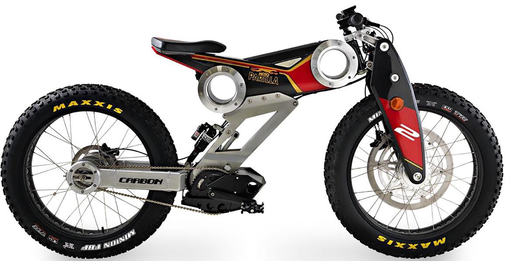 Moto Parilla Carbon Club