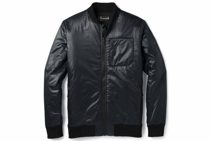 smartwool smartloft 120 bomber jacket
