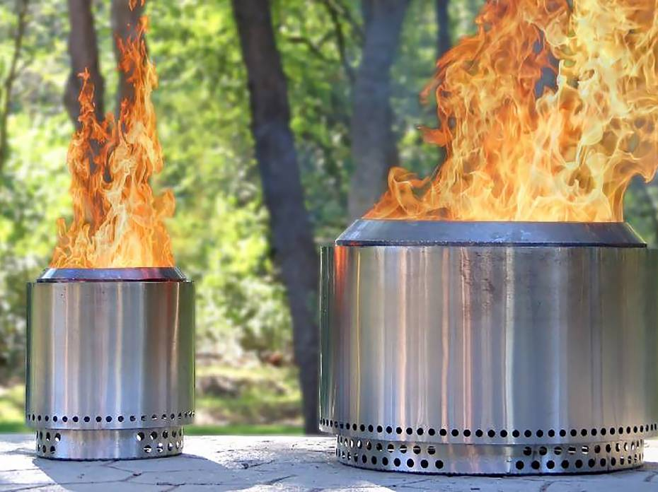 Solo Stove Ranger and Yukon fire pits