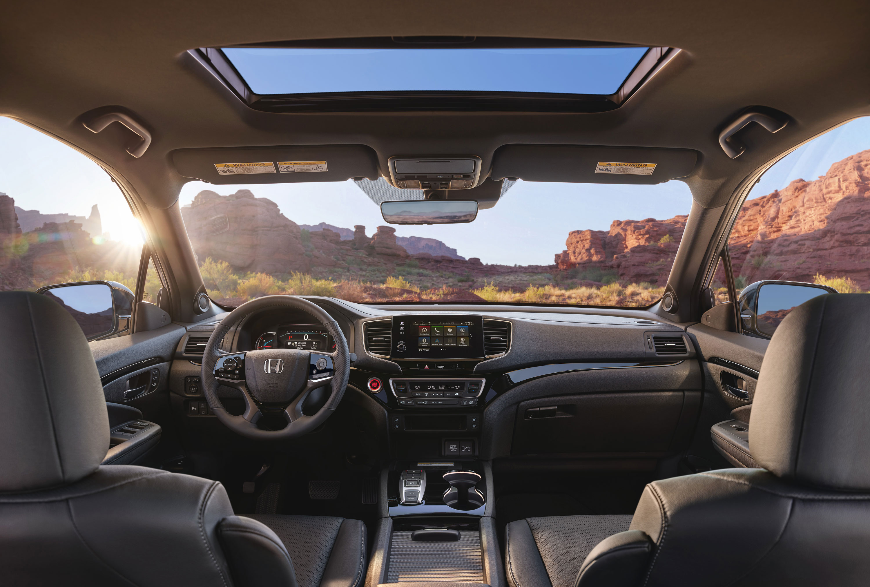 2019 Honda Passport interior