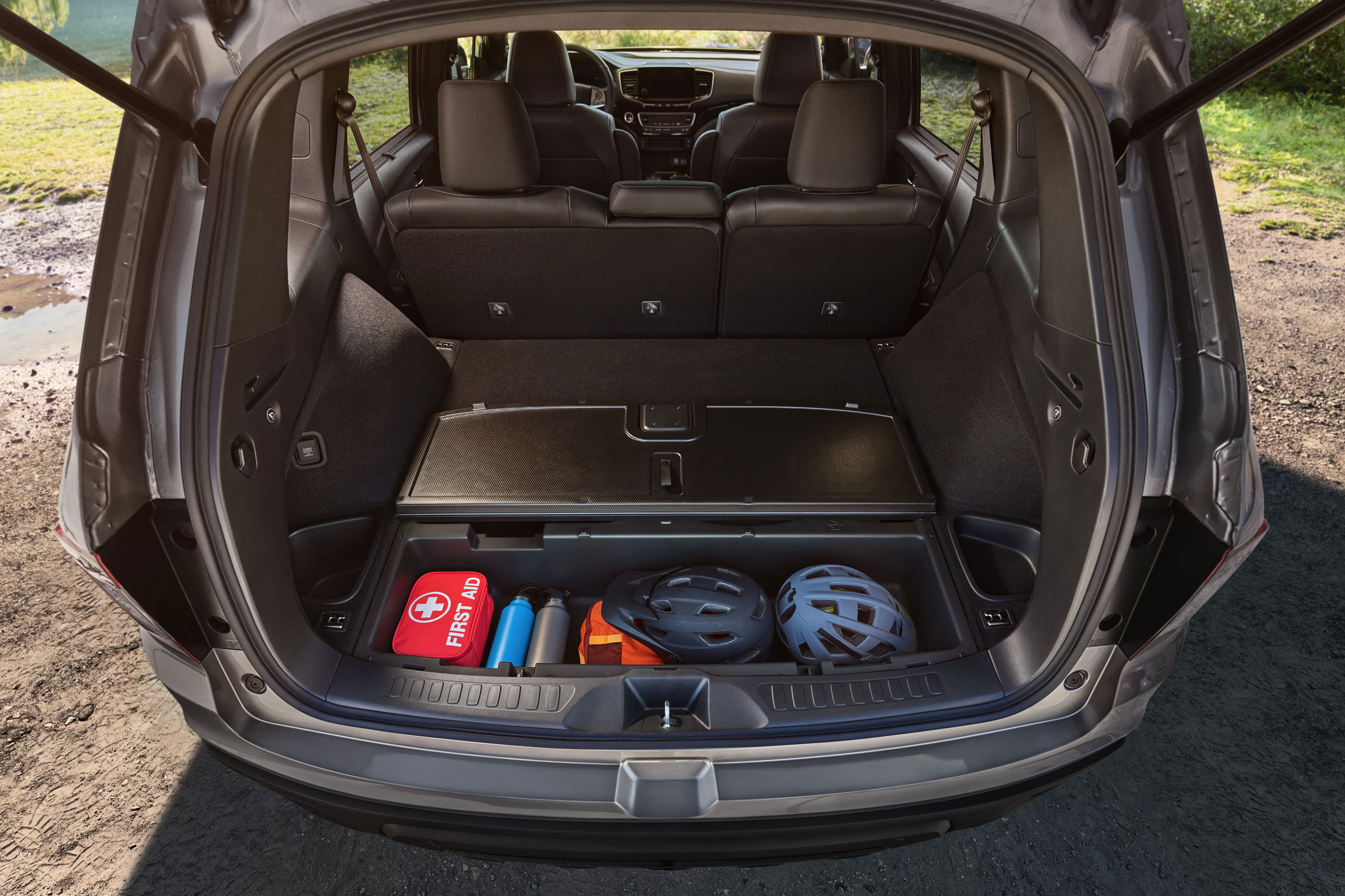 2019 Honda Passport rear cargo
