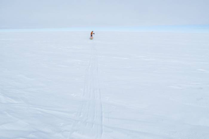 Antarctic solo crossing