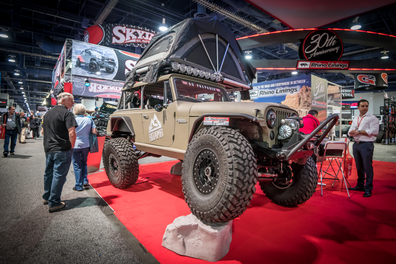 15 Crazy Jeeps From SEMA 2018 | GearJunkie
