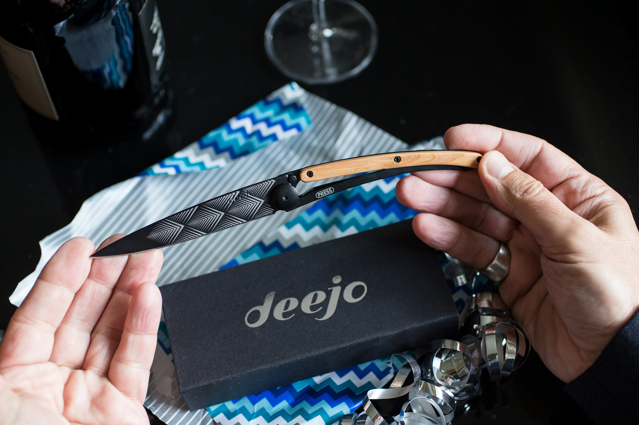 Deejo custom knife