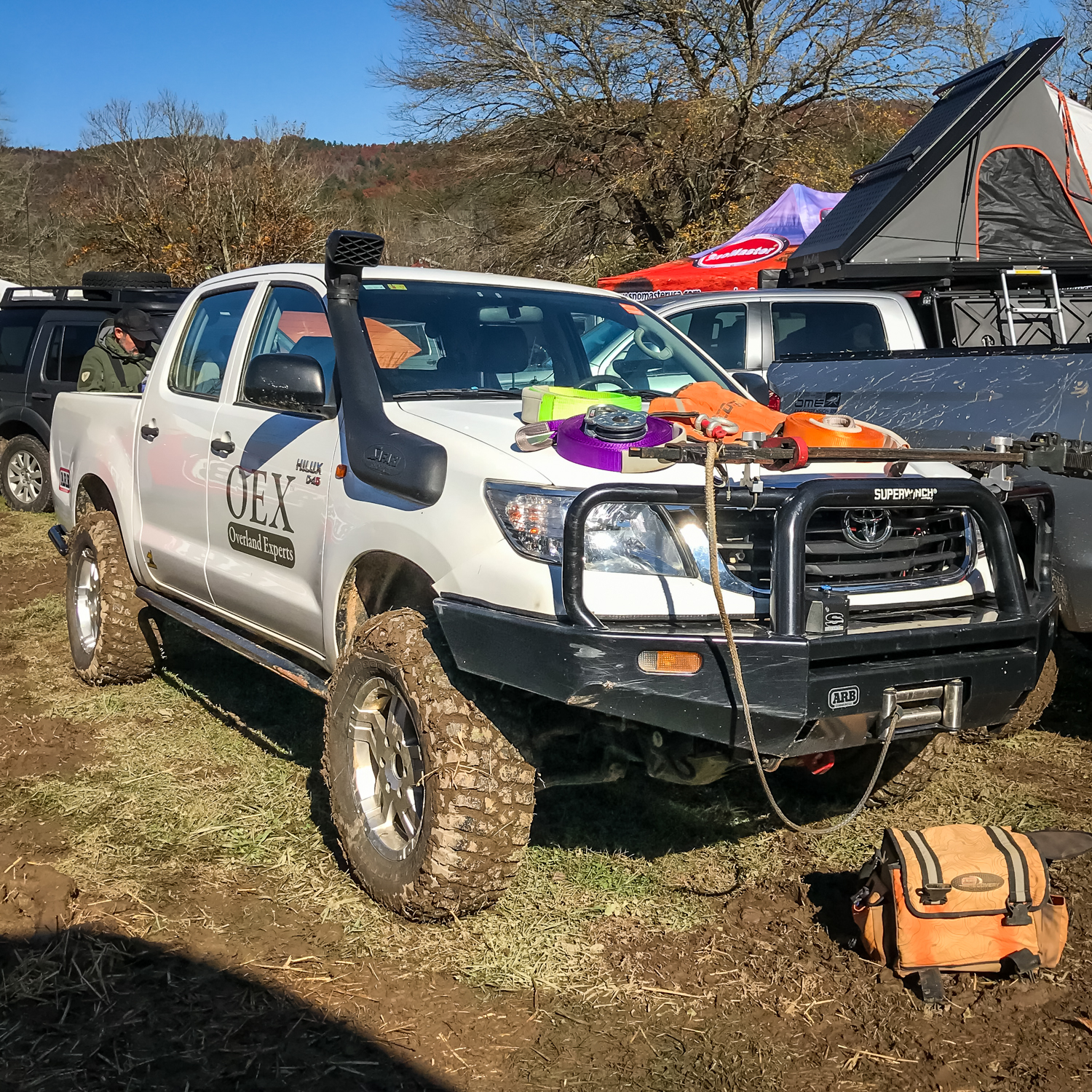 Overland Experts Hilux Gearjunkie
