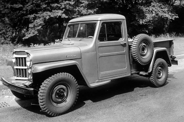 1954 Jeep® 4WD 1-Ton Pickup Truck