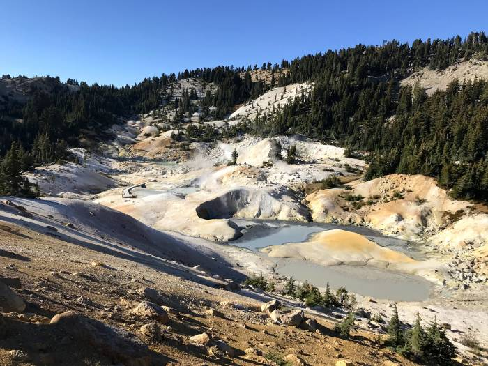 Bumpass Hell in Lassen Volcanic National Park