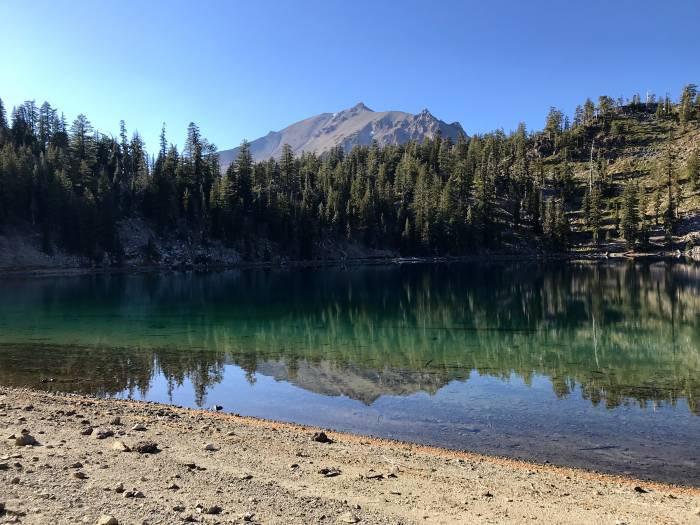 Shadow Lake in Lassen Volcanic National Park