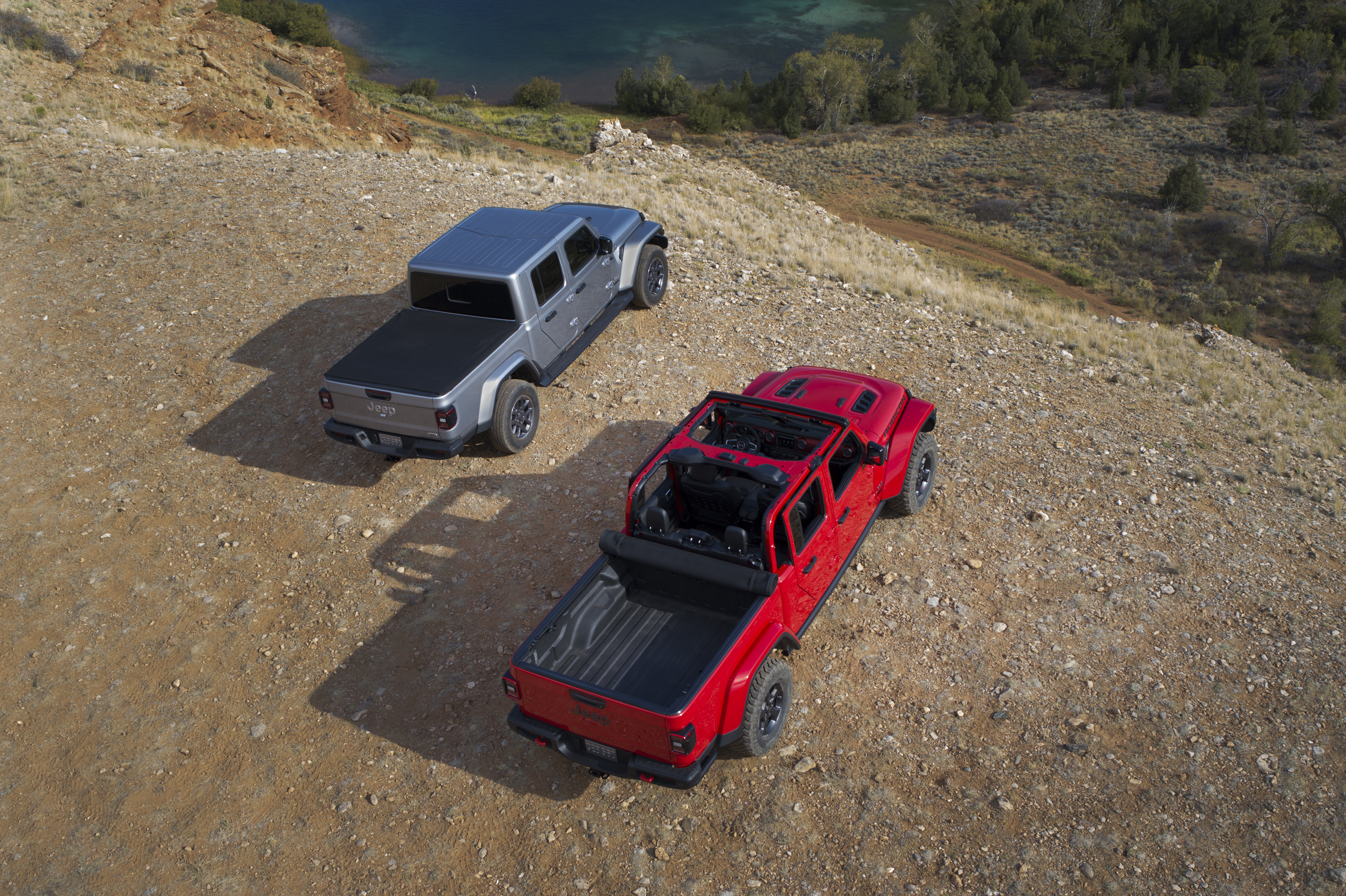 2020 Jeep® Gladiator Overland and Gladiator Rubicon