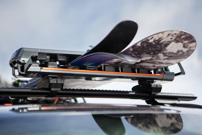Küat GRIP ski rack review