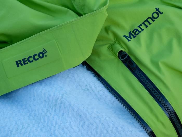 Marmot Castle Peak jacket Polartec Alpha Direct