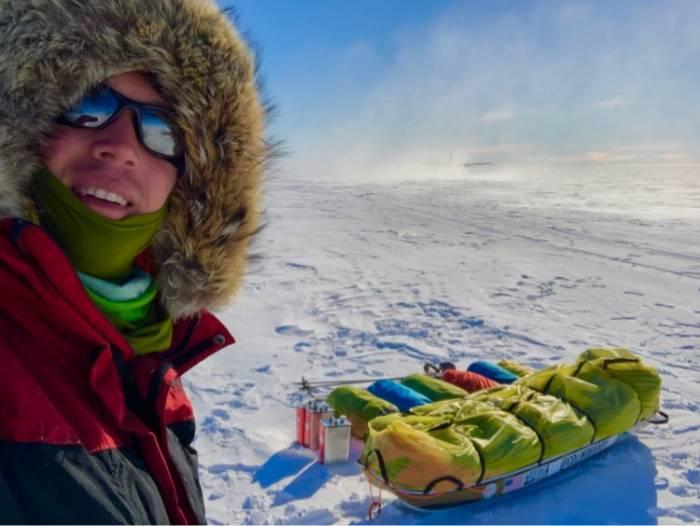 Colin O'Brady Antartica solo