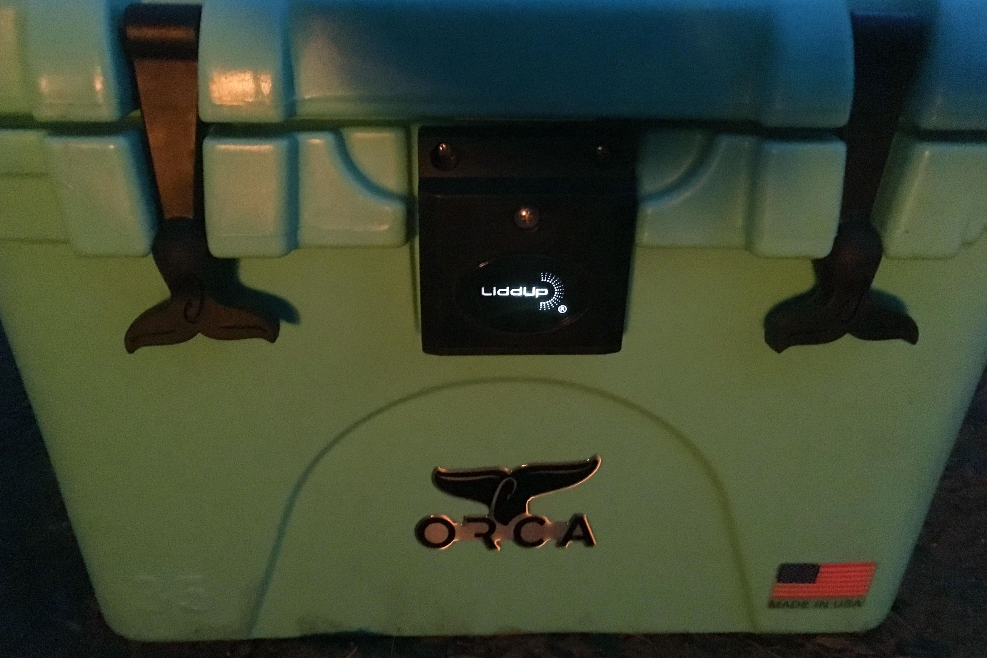 ORCA LiddUp 35-quart cooler