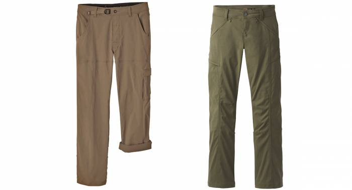 Prana Zion and Halle Climbing Pants