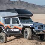 SEMA 2018 Jeep Wrangler camper