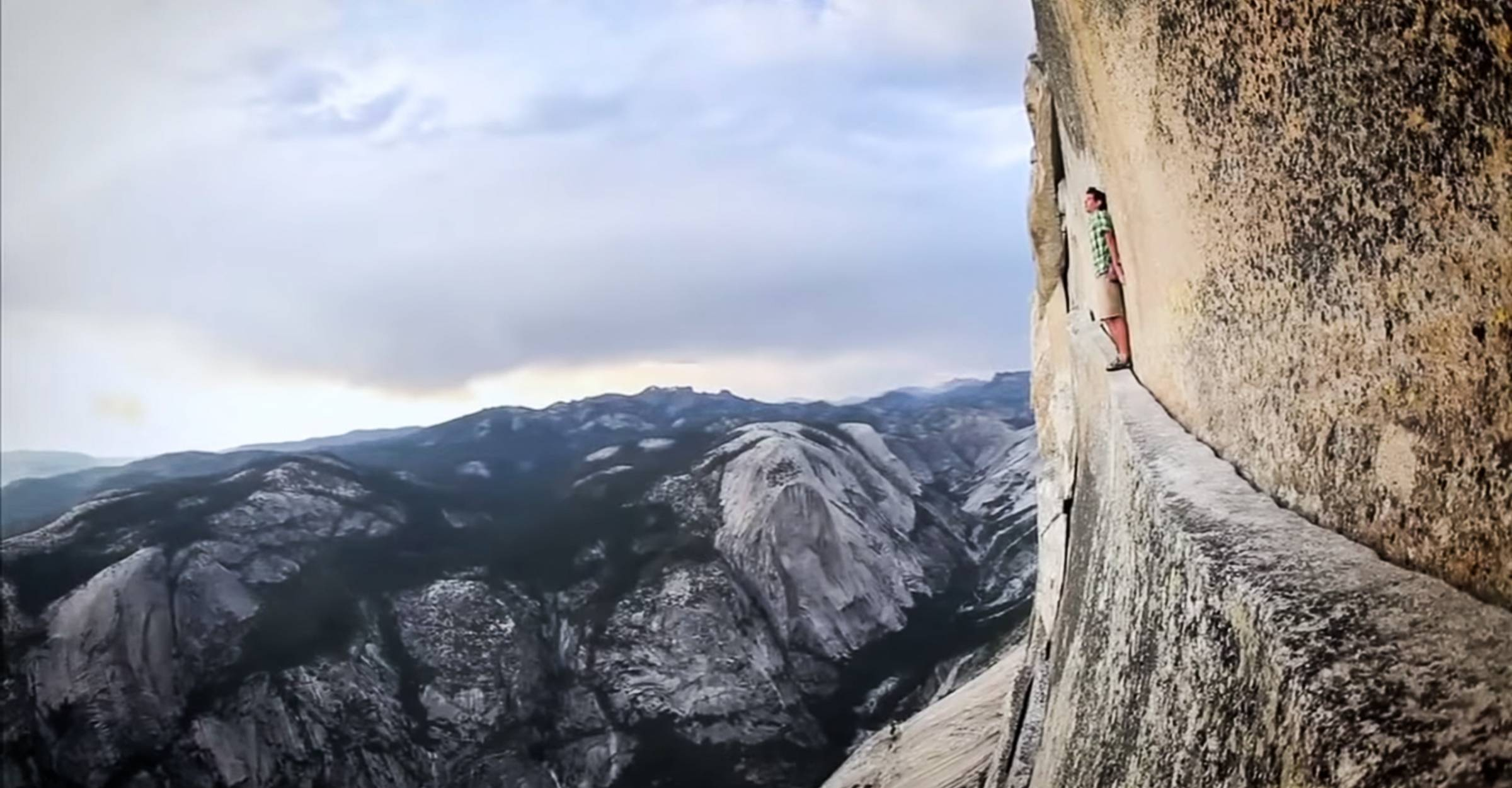 Watch: 2008 Alex Honnold Documentary 'Alone on the Wall'
