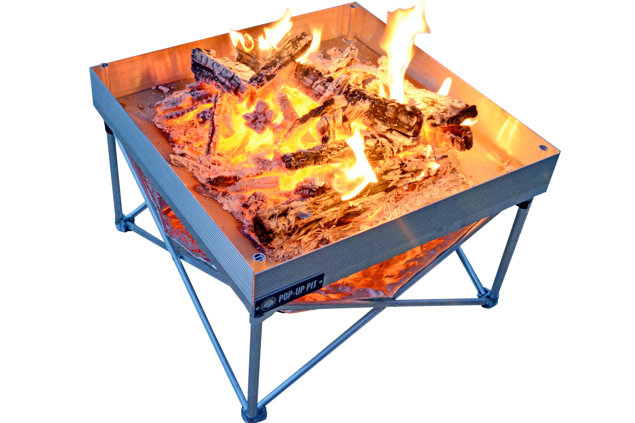 Fireside Outdoor Pop Up Fire Pit