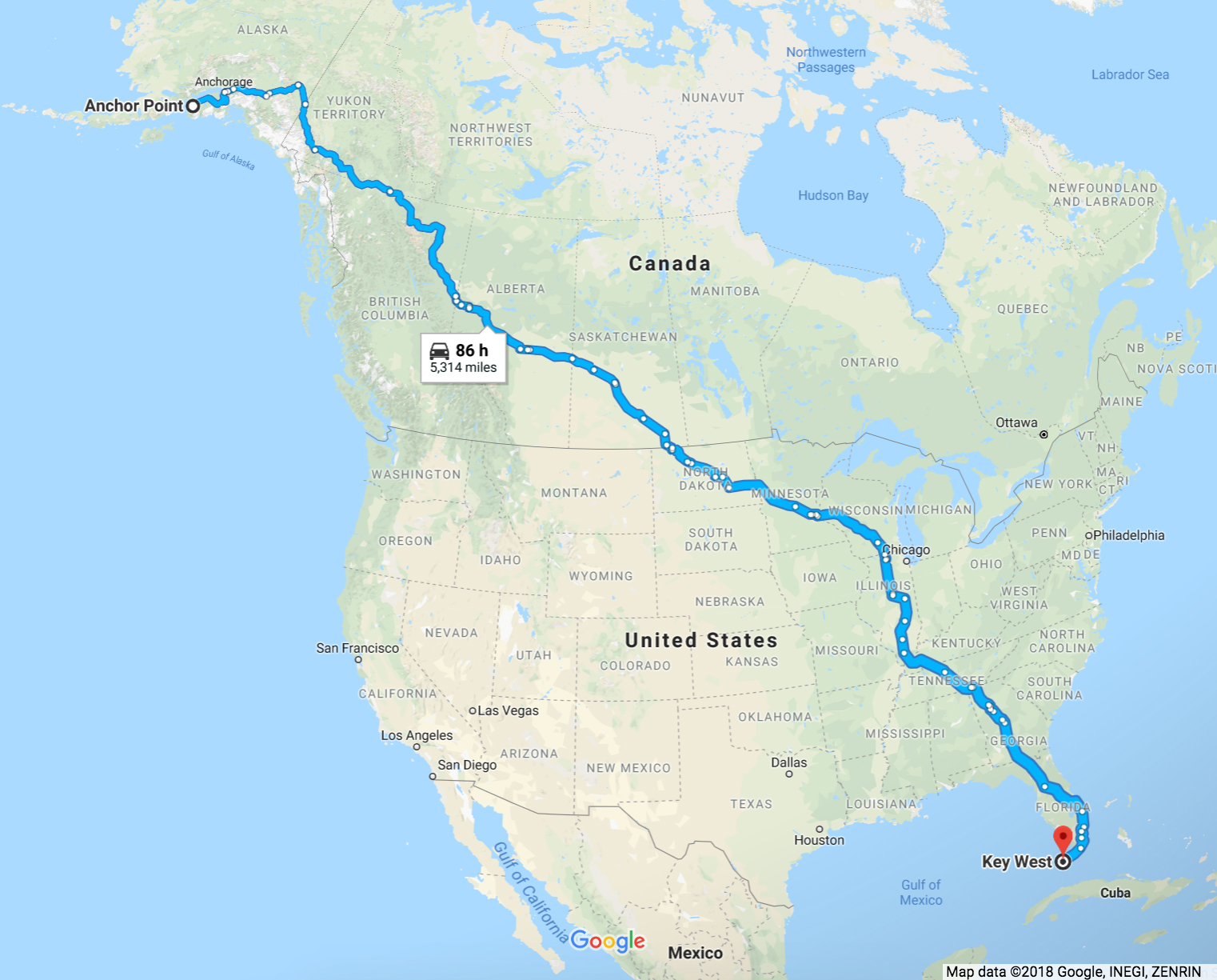 5,300 Miles in 98 Days: Pete Kostelnick Runs From Alaska to ...