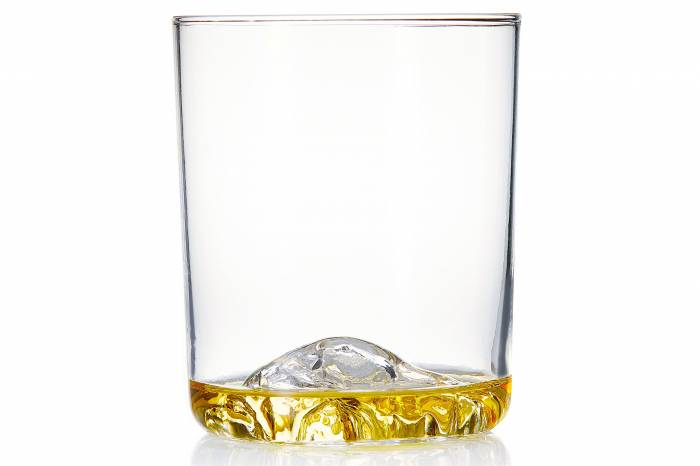 Whiskey Peaks Rocks Glass
