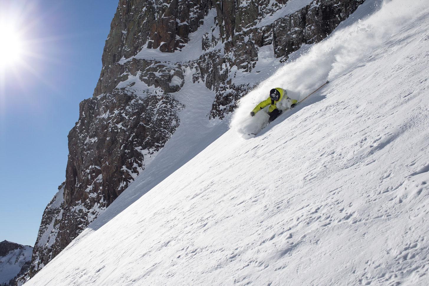 Julian Carr skier