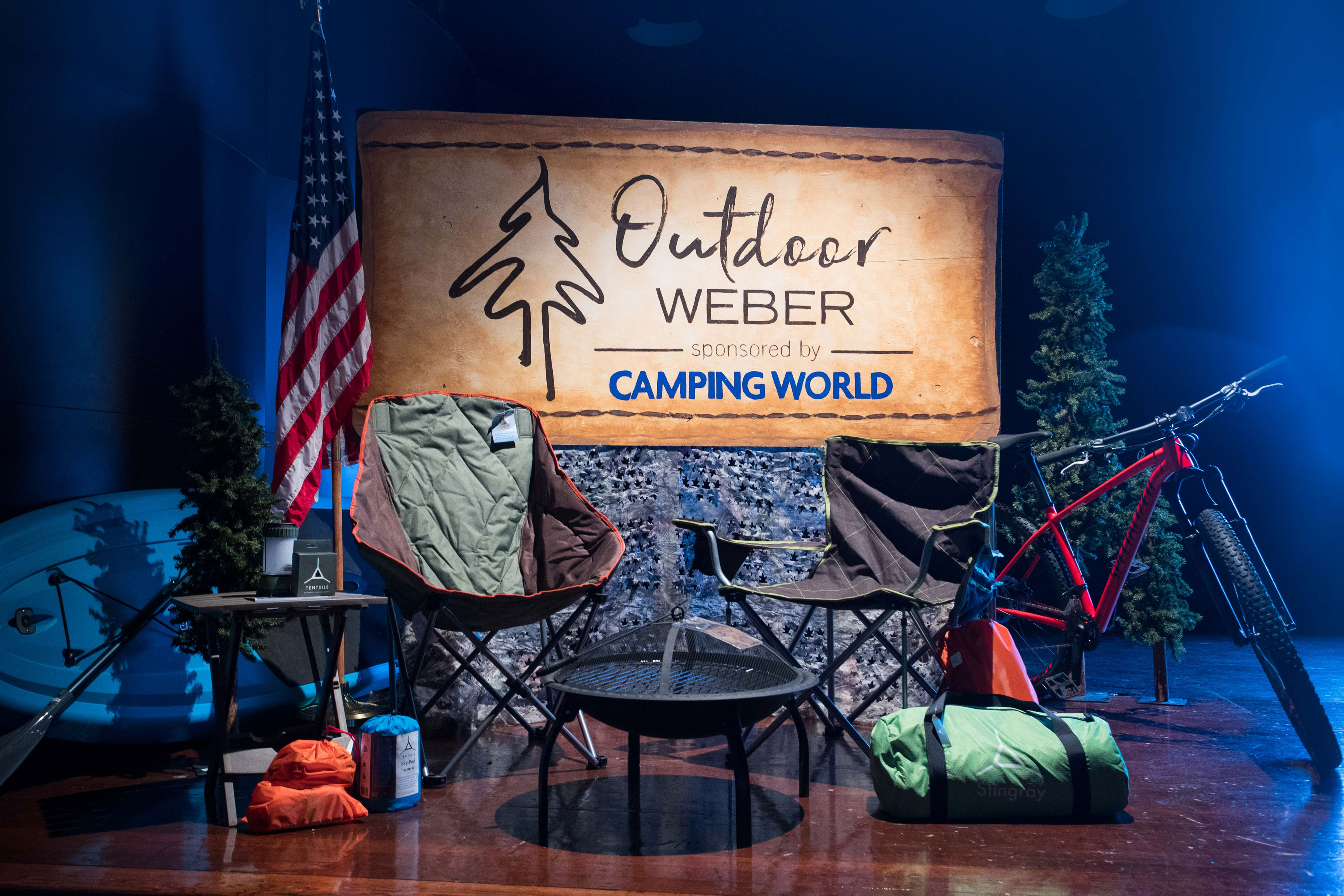 Outdoor Weber competition