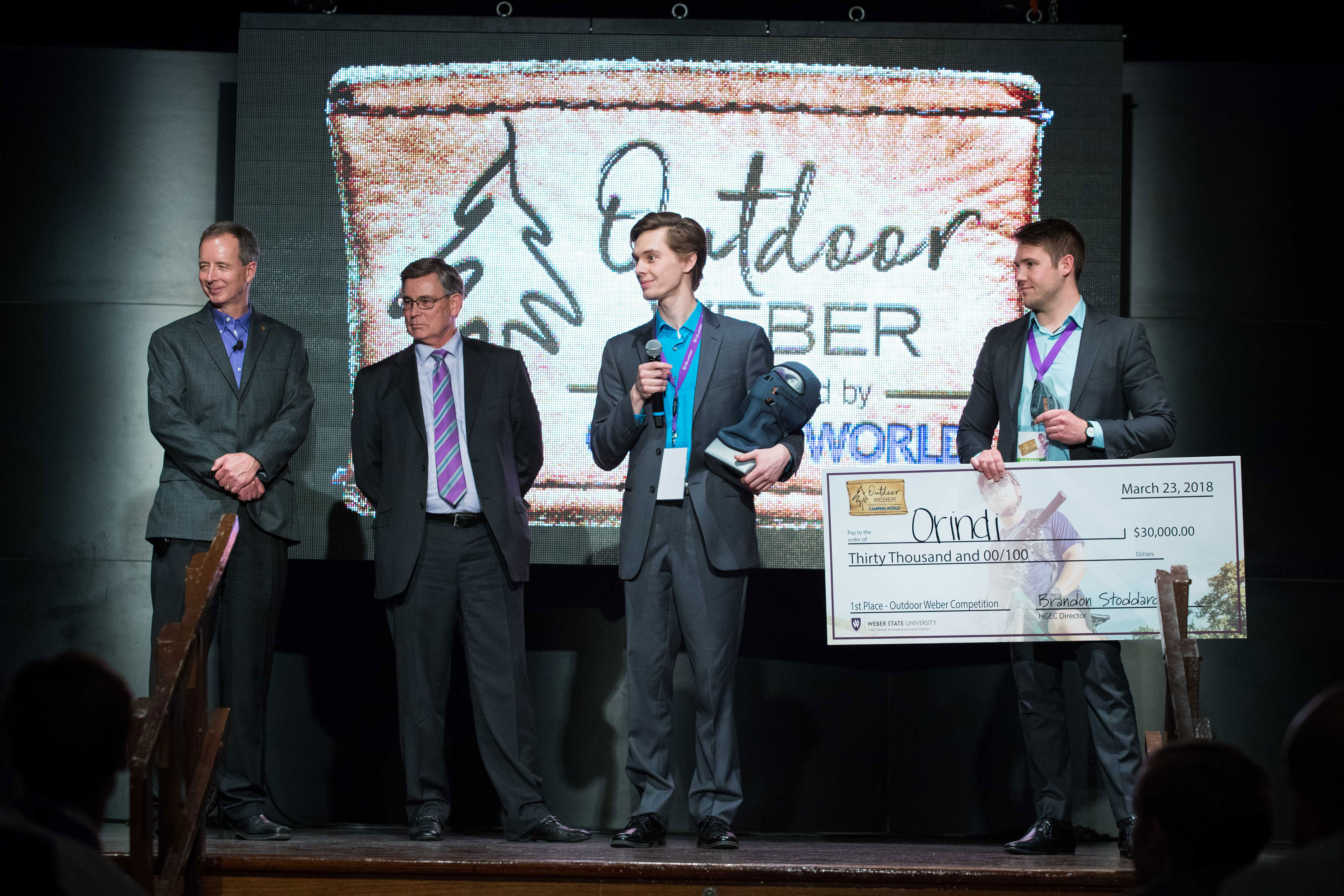 Outdoor Weber Idea Competition