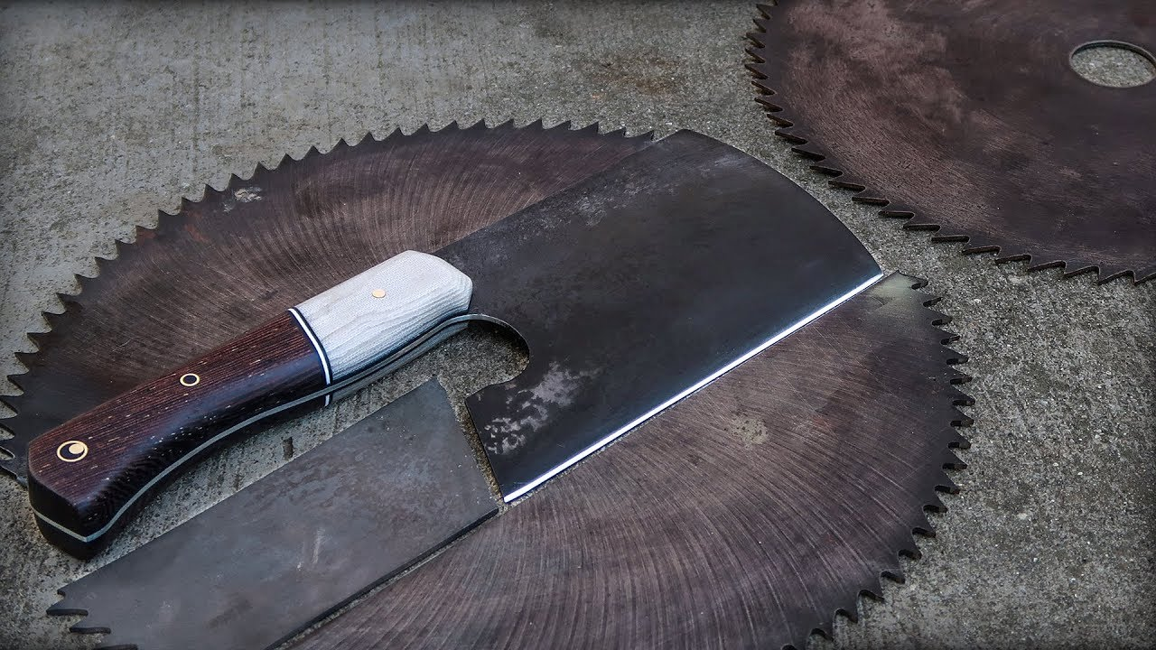 Watch: Circular Saw Blade Crafted Into Meat Cleaver ...