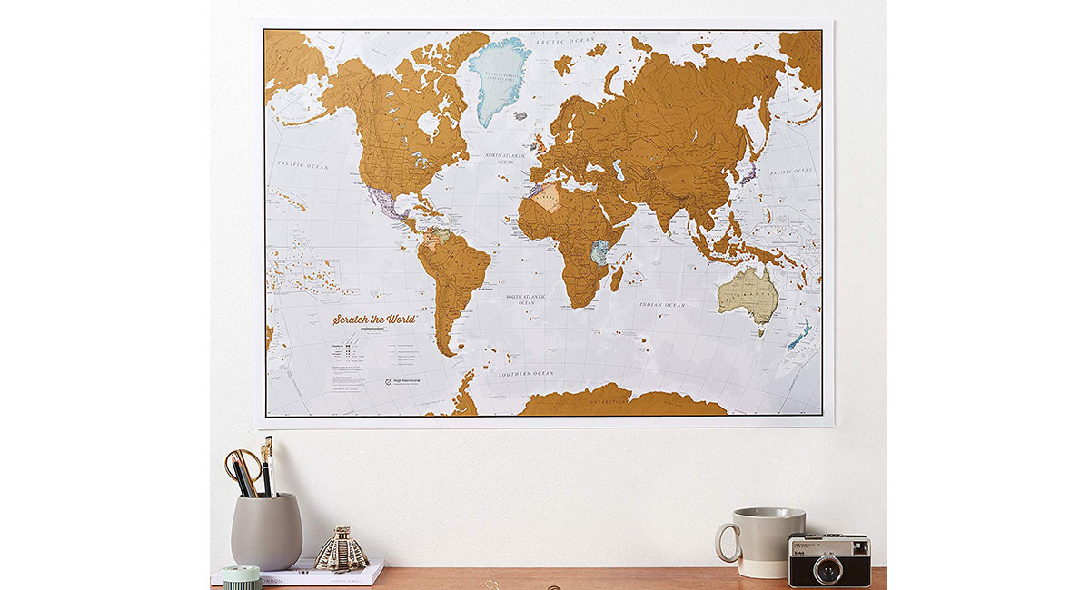scratch Map - Gifts for Travelers
