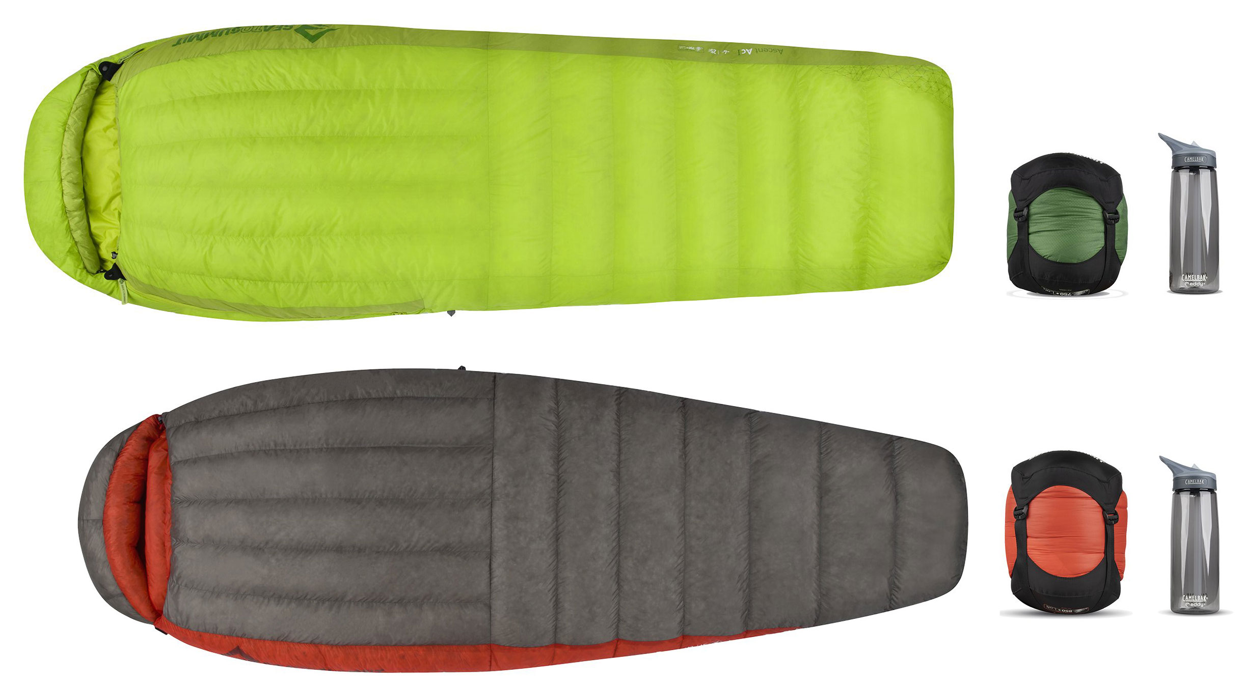 Sea to Summit Ascent and Flame Sleeping Bags