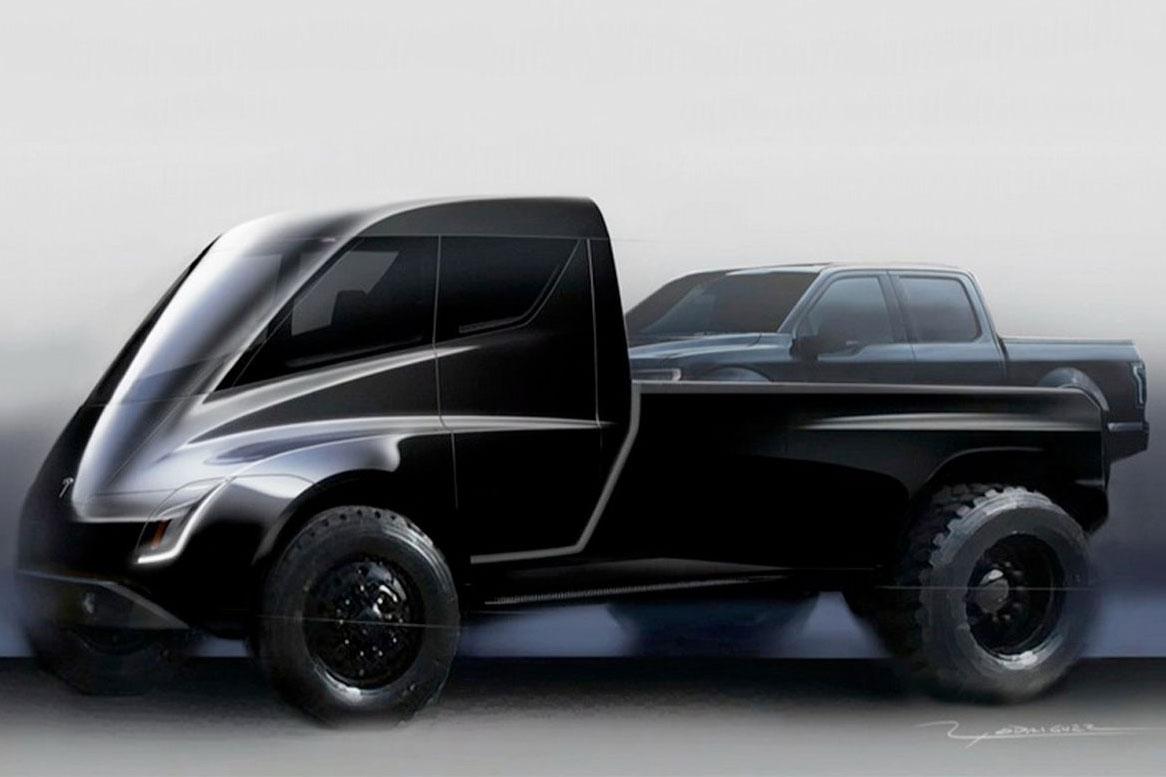 Musk Confirms Tesla Pickup Will Be 'Futuristic-Like Cyberpunk' Truck