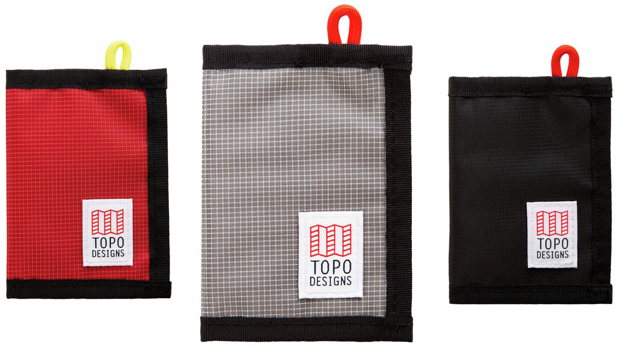 Topo Designs bi-fold wallet