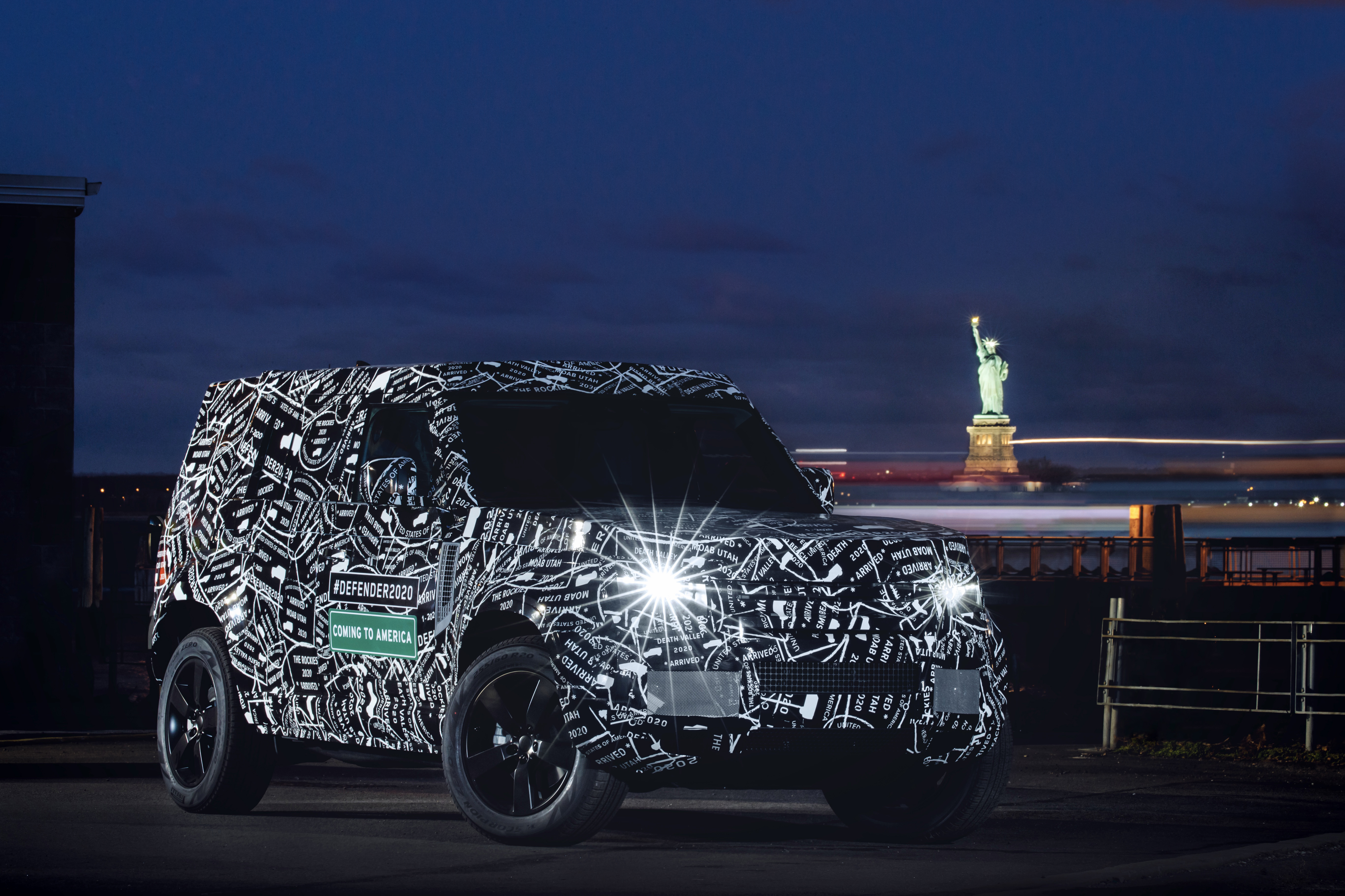 Confirmed: New Land Rover Defender Coming to North America