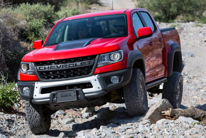2019 Chevy Colorado Zr2 Bison Leads The Off Road Charge